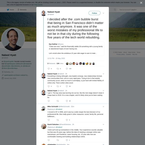 Nabeel Hyatt on Twitter