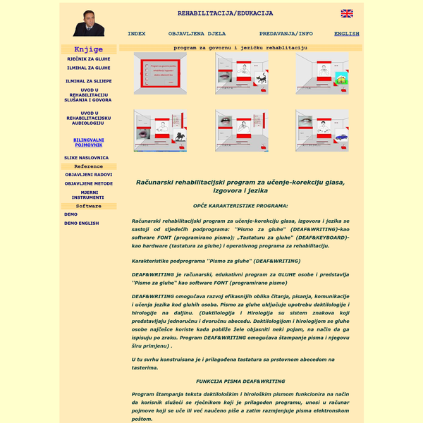 Dr.sc. Husnija Hasanbegović - Rehabilitative Audiology