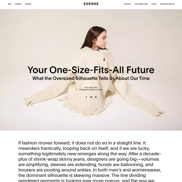Your One-Size-Fits-All Future