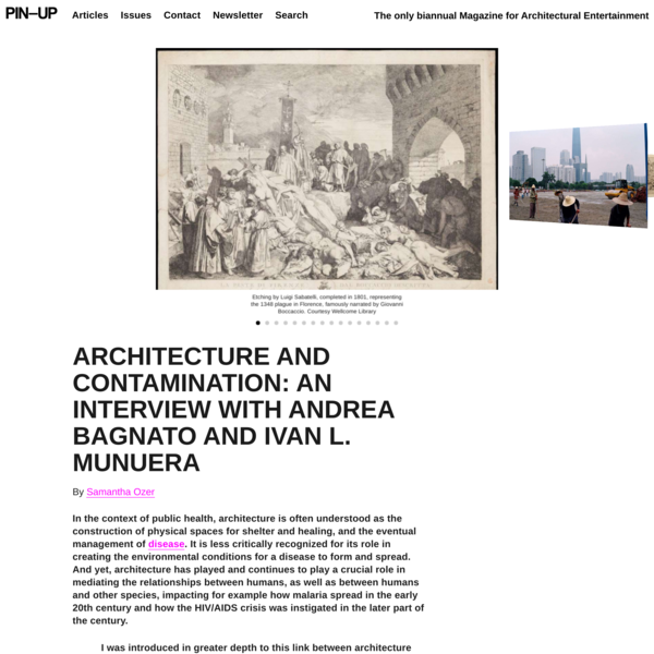 ARCHITECTURE AND CONTAMINATION: An Interview With Andrea Bagnato And Ivan L. Munuera