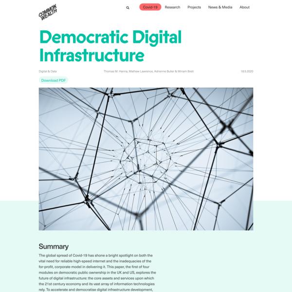 Democratic Digital Infrastructure