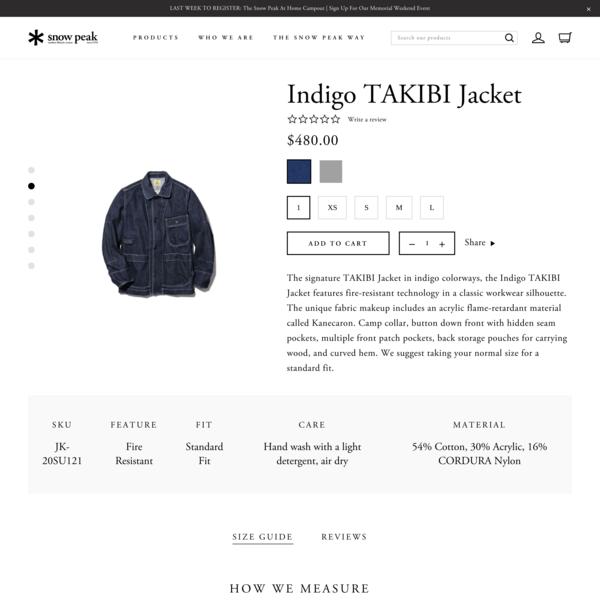 Indigo TAKIBI Jacket