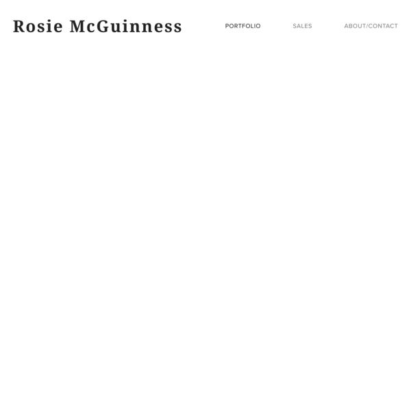 Portfolio — Rosie McGuinness