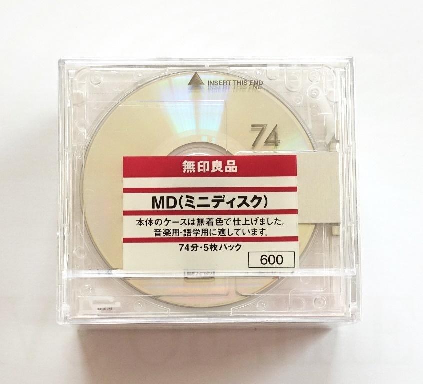 Muji 74 Minidiscs