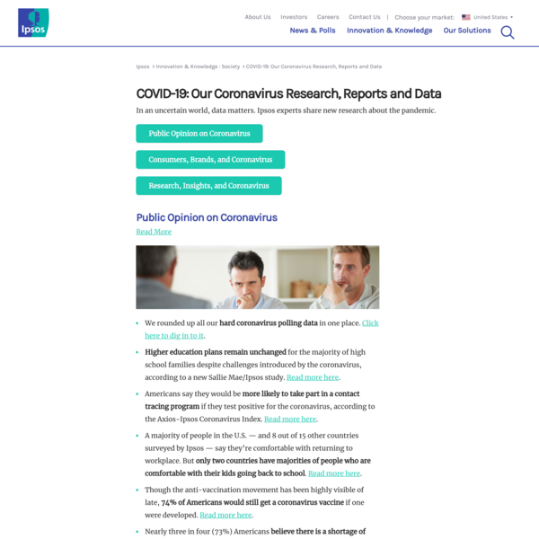 COVID-19: Our Coronavirus Research, Reports and Data