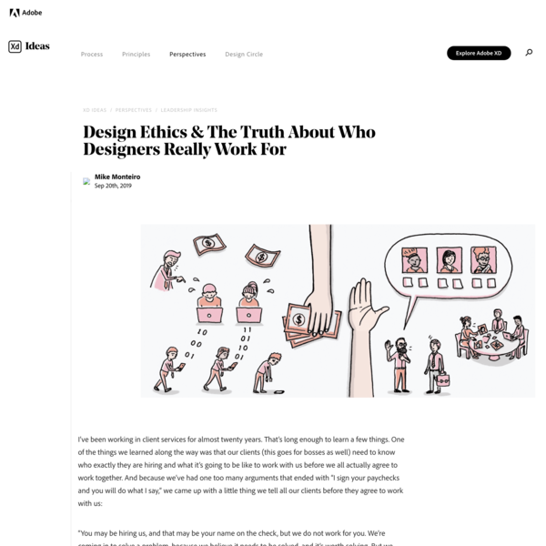 Design Ethics: Who Do Designers Really Work For? | Adobe XD Ideas