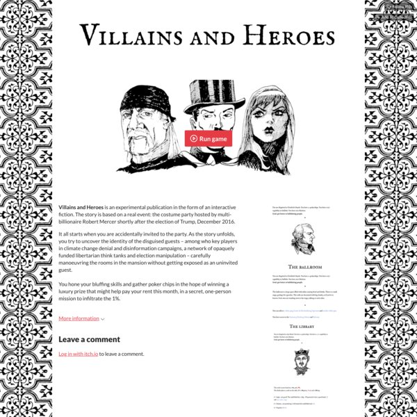 Villains and Heroes by l03s