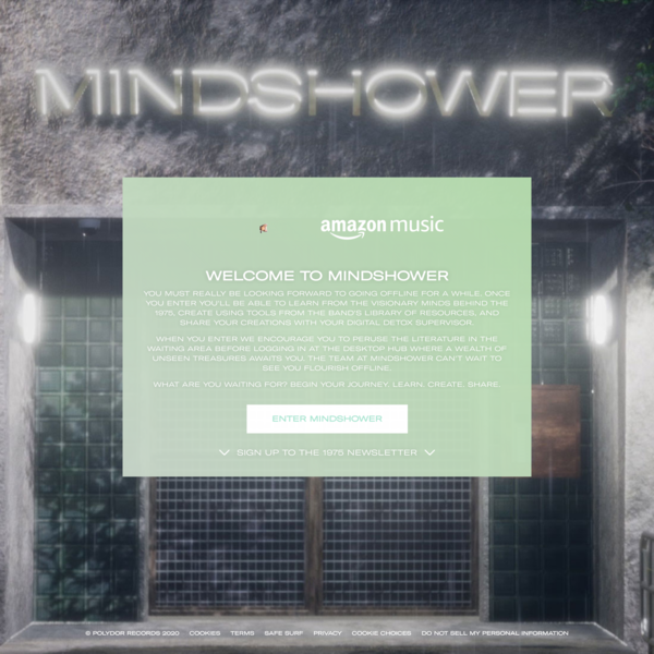 Mindshower Digital Detox now open to the public.