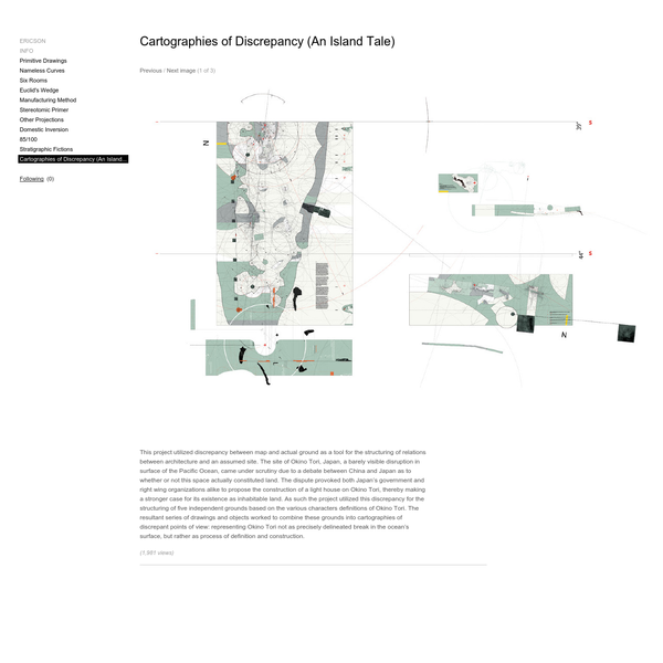 Cartographies of Discrepancy (An Island Tale) - Mark Ericson