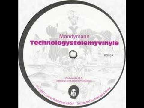 """Moodymann """" Technologystolemyvinyle """" KDJ 35"""