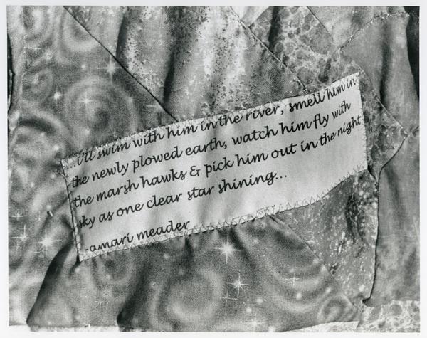 Arthur P. Mange - Cloth sentiment at Jewish Cemetery, 2010