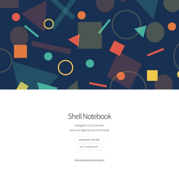 Shell Notebook