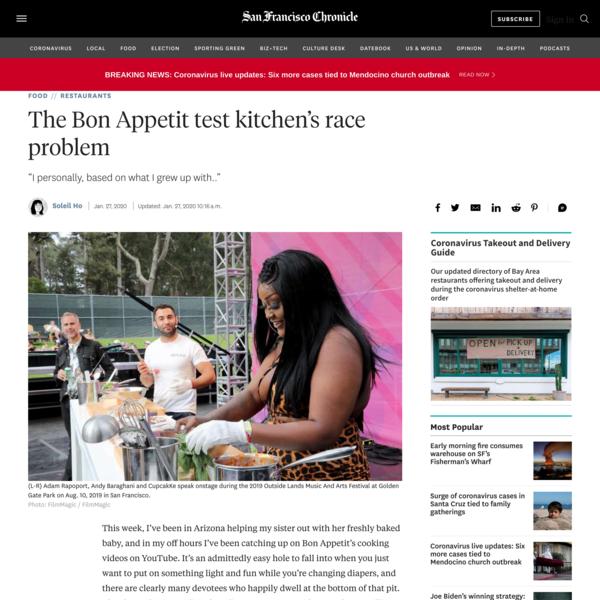 The Bon Appetit test kitchen's race problem