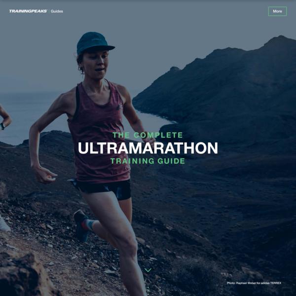 How to Train for an Ultramarathon