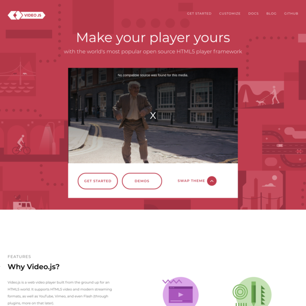 Video.js - Make your player yours