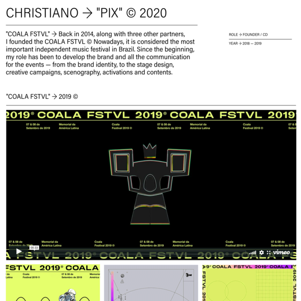 Christiano Vellutini — Coala FSTVL