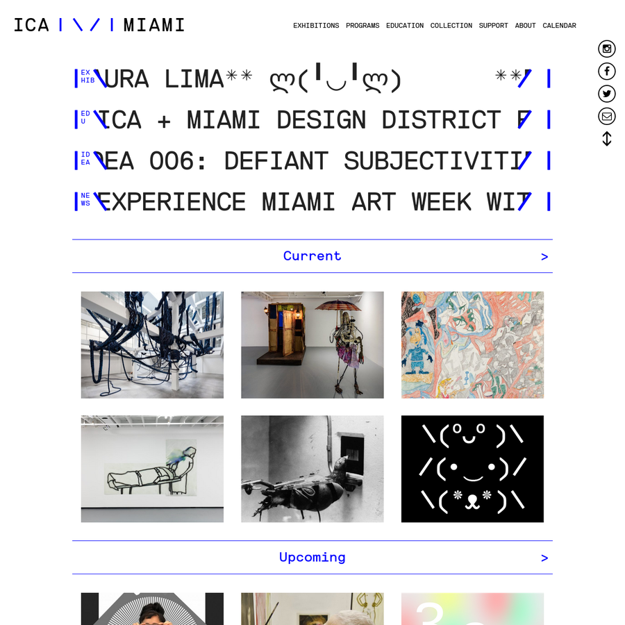 The Institute of Contemporary Art (ICA Miami) is a leading contemporary art museum located in the landmark Moore Building in the Miami Design District.