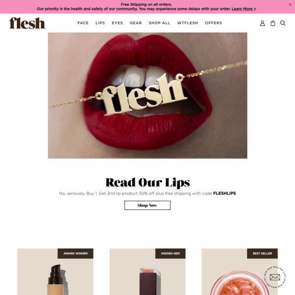 Flesh — Beauty and Makeup Products | In Every Color of You