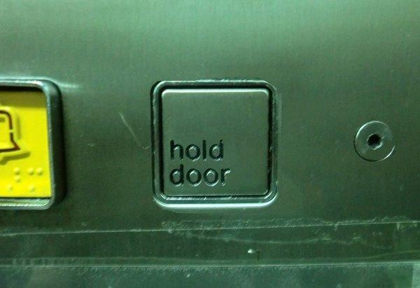 Hold door