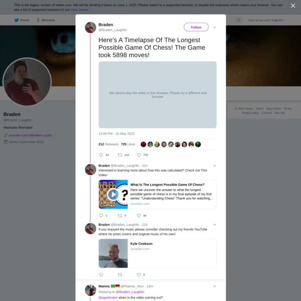 Braden on Twitter