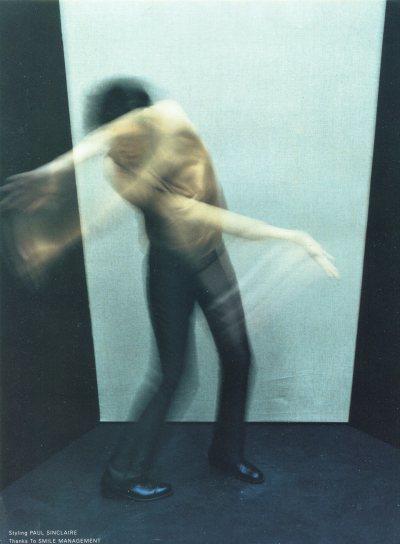 Francis Bacon by Mario Sorrenti