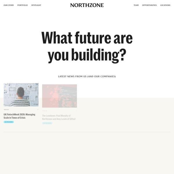 Home - Northzone