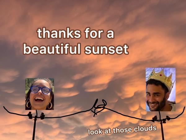 Beautiful sunse