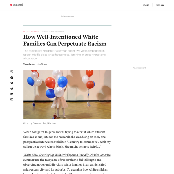 How Well-Intentioned White Families Can Perpetuate Racism