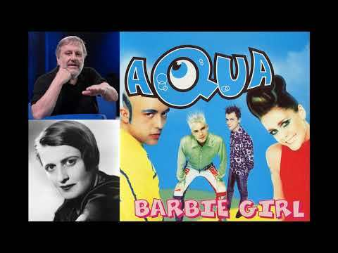 "Ayn Rand and Slavoj Žižek read ""Barbie Girl"" by Aqua (Speech Synthesis)"