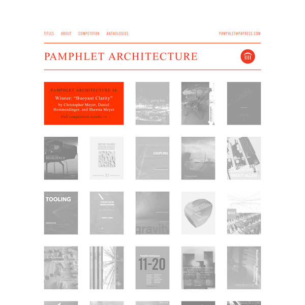 Pamphlet Architecture