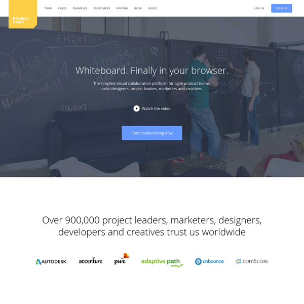 Online Whiteboard & Online Collaboration Tool | RealtimeBoard