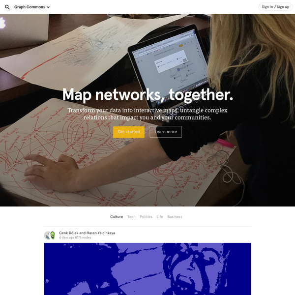 Graph Commons - Map networks together