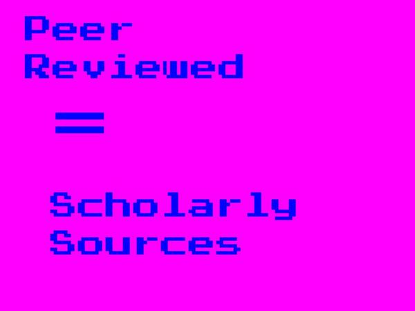 Peer-Review-equals-Scholarly-Sources-Drawing.jpg