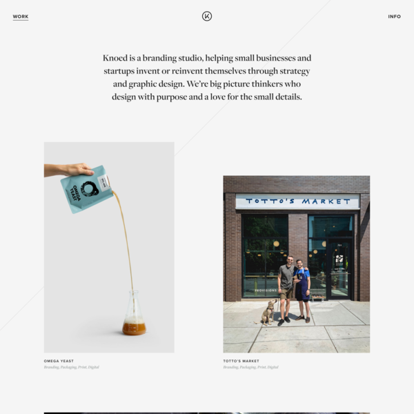 Knoed Creative | Chicago Graphic Design and Branding Agency