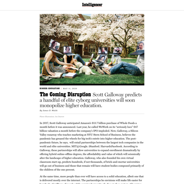 The Coming Disruption to College