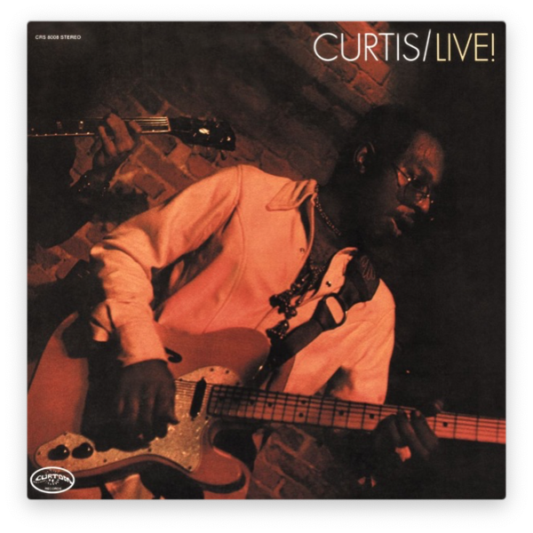 Curtis Mayfield — Curtis / Live!