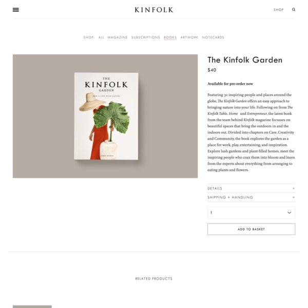The Kinfolk Garden – Kinfolk