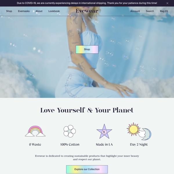 Evewear - Sustainable Sleepwear for Dreamers - YOUAREMADEOFSTARS