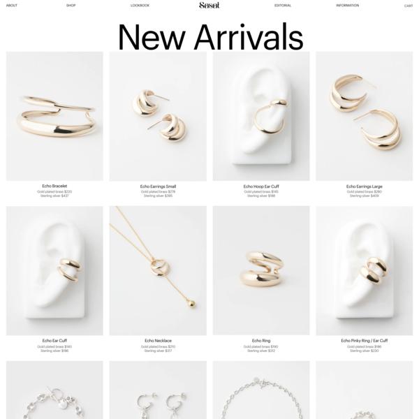 SASAI JEWELRY — Shop