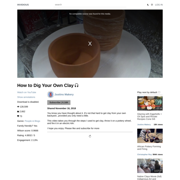 How to Dig Your Own Clay