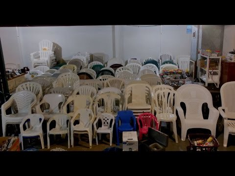 My Plastic Chair Collection Take 5