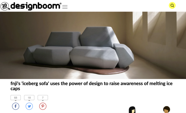 designboom sofa design critique