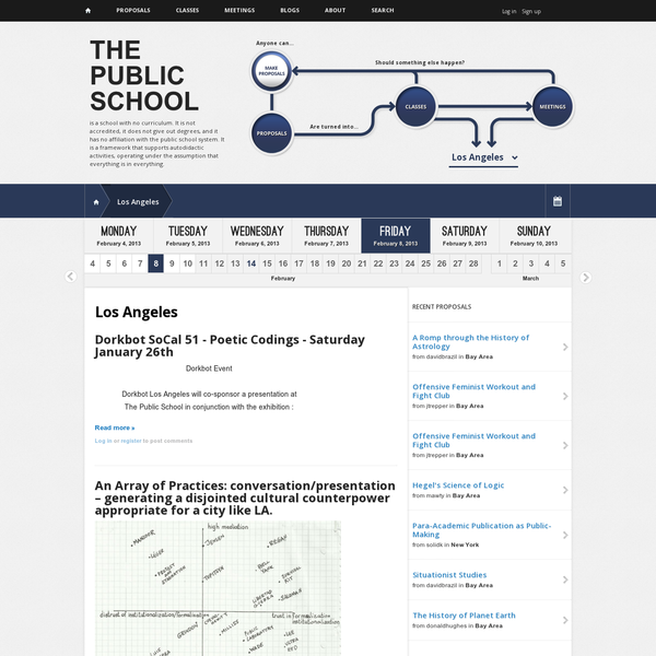 Los Angeles | The Public School