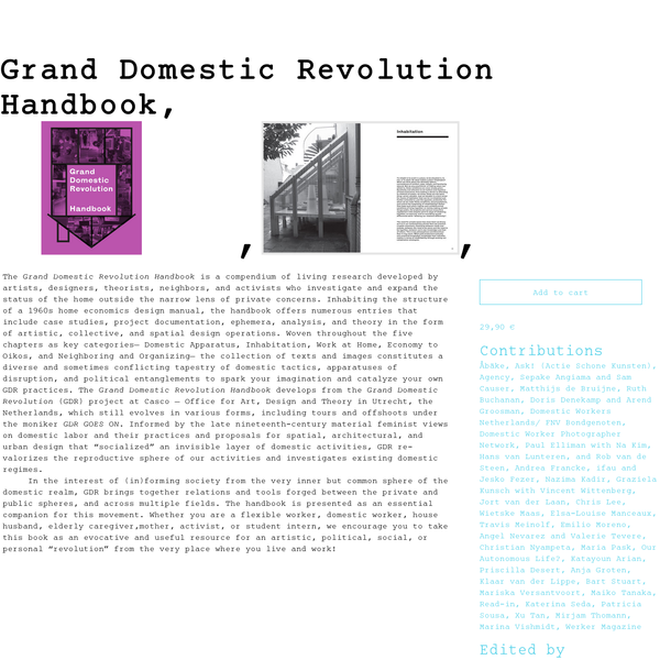 Grand Domestic Revolution Handbook | Casco