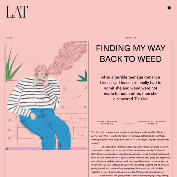 Finding my way back to weed - Latitude