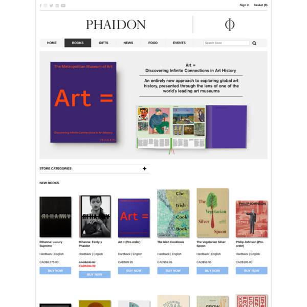 Buy books online | Quality books from the Phaidon Store