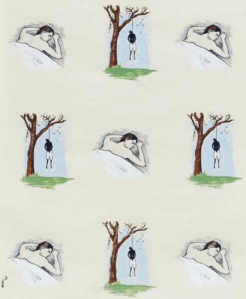 Robert Gober - Hanging Man Sleeping Man