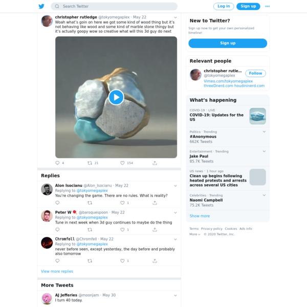 christopher rutledge on Twitter