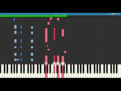 Otis Spann Style Slow Blues Composed by Chase Garrett Synthesia Tutorial!