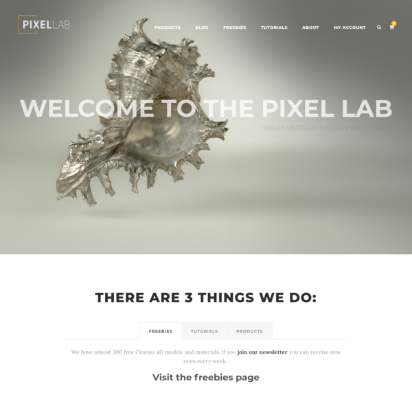 Homepage - The Pixel Lab